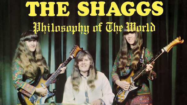 The cover art from The Shaggs