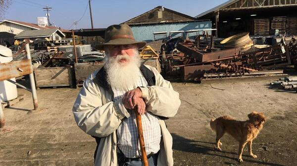 Tom Willey has farmed for decades in California