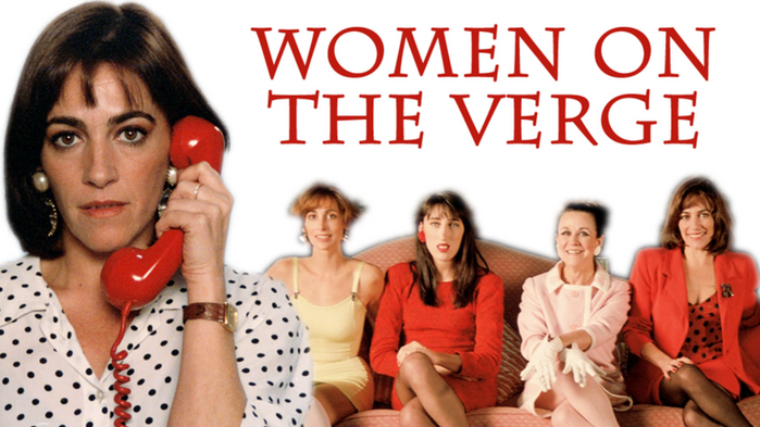 Characters from the 1988 Pedro Almodóvar movie, Women on the Verge of a Nervous Breakdown.
