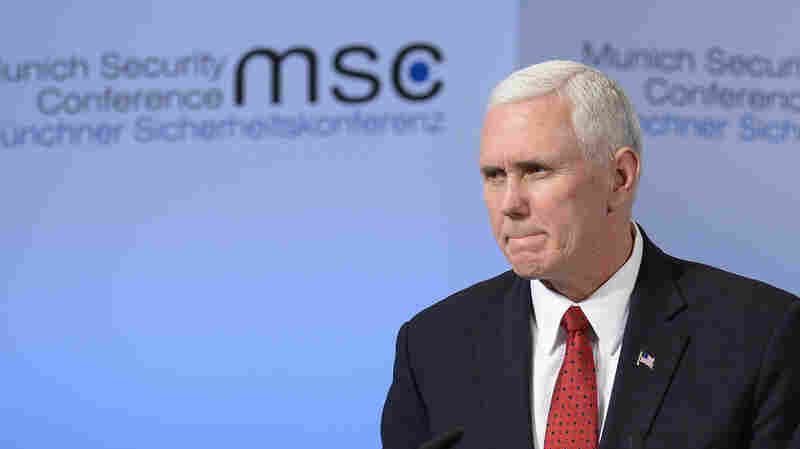 Pence Seeks To Reassure Nervous European Allies, Vows U.S. Commitment To NATO