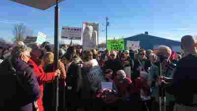 New York Republican Rep. Tom Reed Faces Angry Crowds, Deep In Trump Country