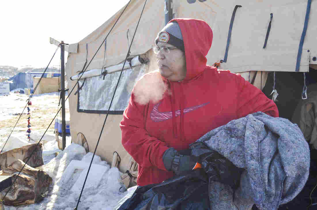 Dakota Access pipeline camps abandoned, burned after nearly a year of protest