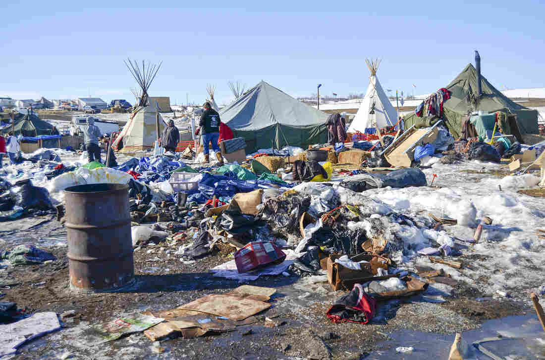 Oceti Sakowin protest camp clean up could take a while
