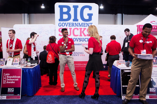 Turning Point USA is an organization that targets students and young people.