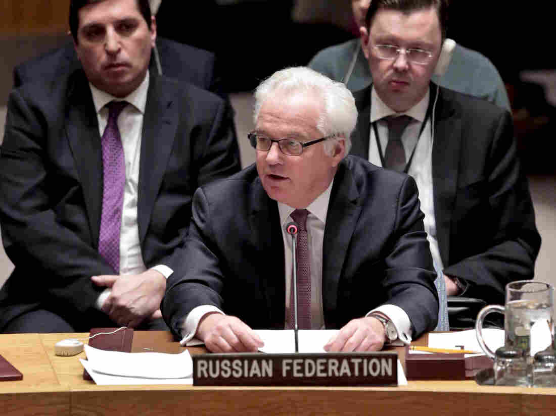 Russian ambassador 'dies suddenly' after being taken ill in NY