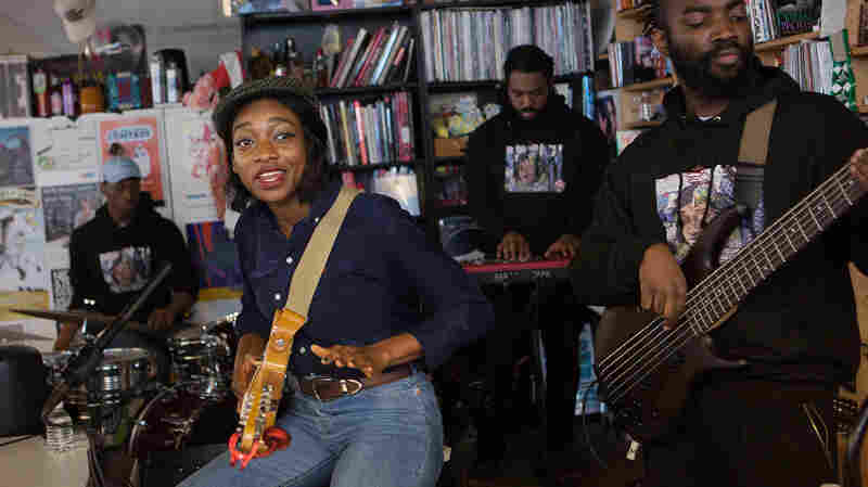 Little Simz: Tiny Desk Concert