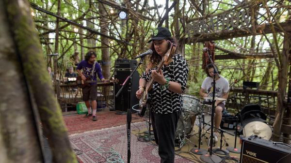 "Palehound performs ""Holiest"" live at Pickathon."