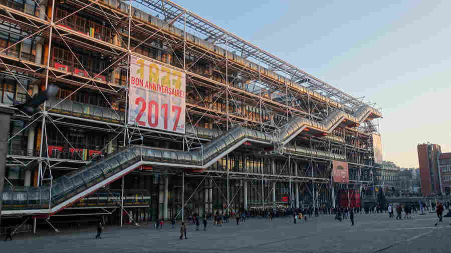 At 40, Paris' Pompidou Center Is Still 'An Unexpected Trip'