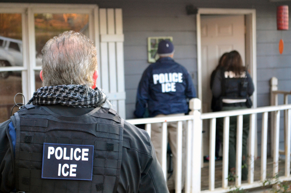 U.S. Immigration and Customs Enforcement arrested 680 people during the first week of February. The memos call for 10,000 more ICE officers and agents as well as 5,000 more agents at U.S. Customs and Border Protection.