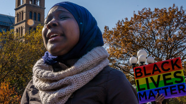 In the United States, black Muslims have to balance multiple identities.