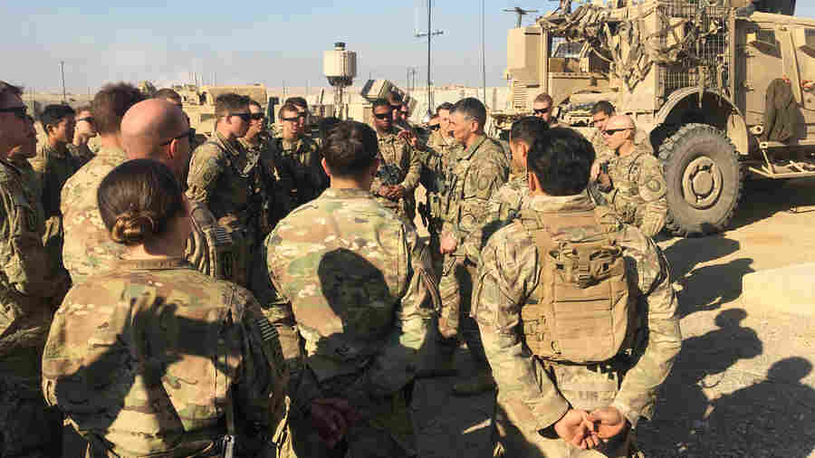 A U.S. Commander Works With Iraqi Forces To Fight 'Brutal Enemy' ISIS