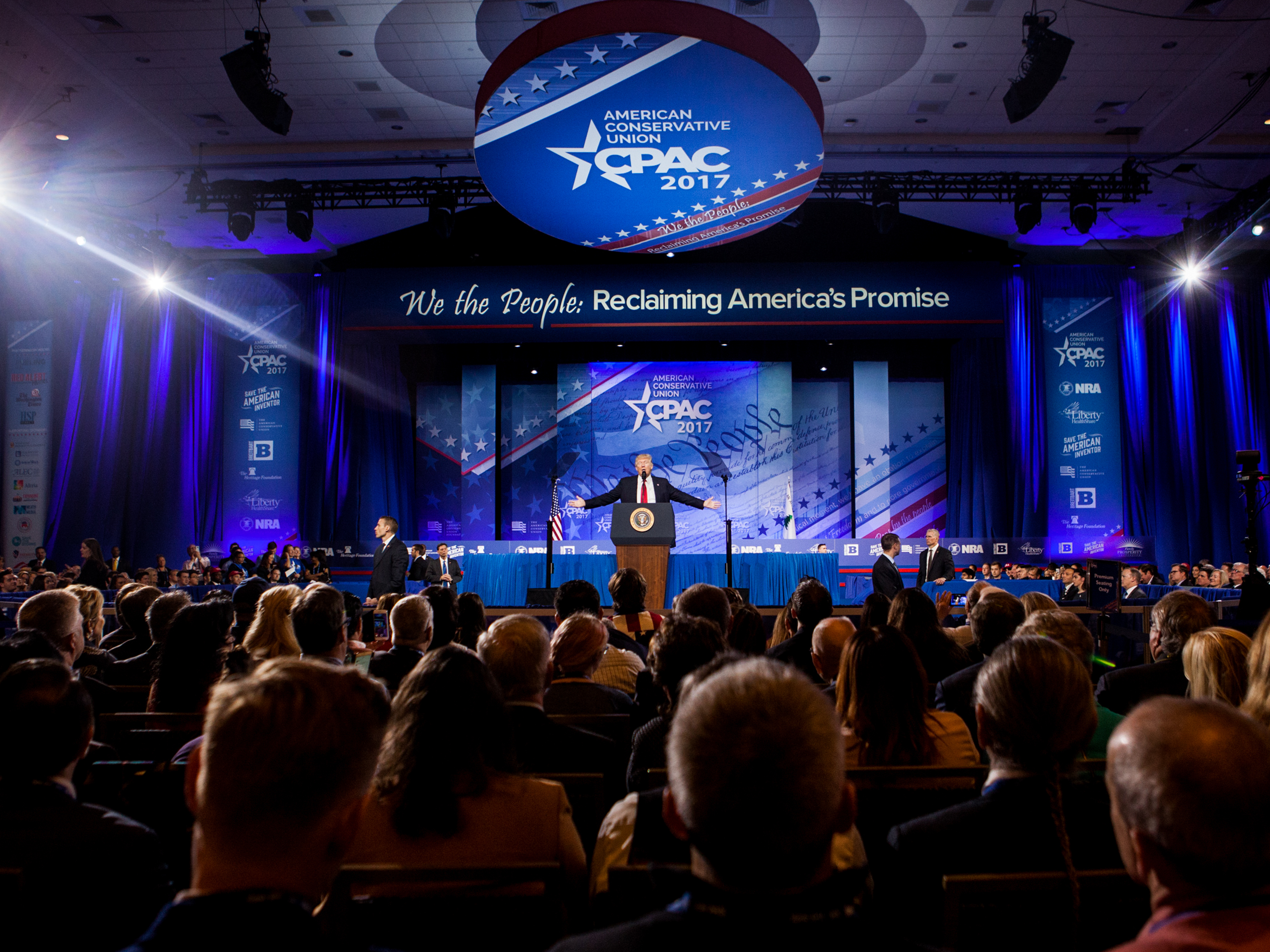 Trump And CPAC: A Complicated Relationship No More | NPR & Houston ...
