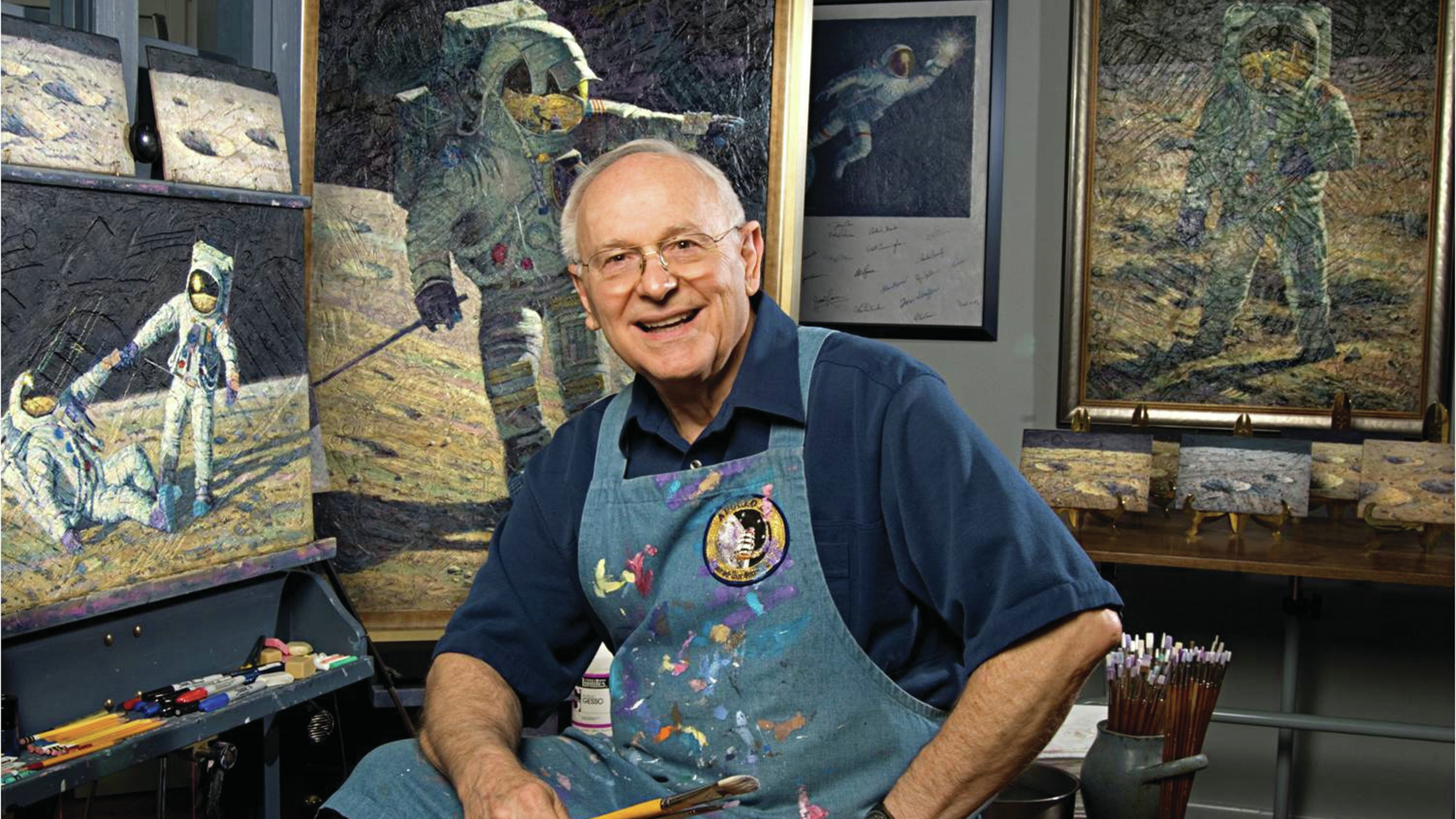 Alan Bean, moon-walking USA  astronaut turned painter, dies in Houston