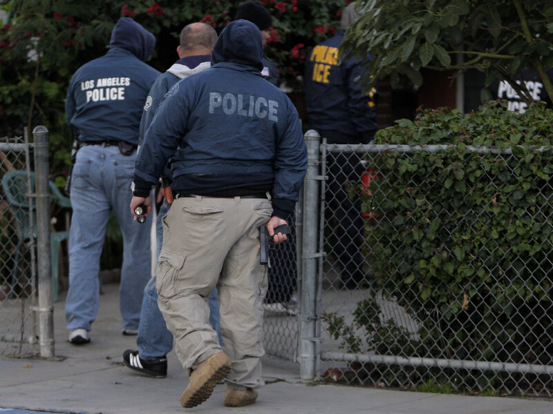 Los Angeles Officials To ICE: Stop Identifying Yourselves As Police