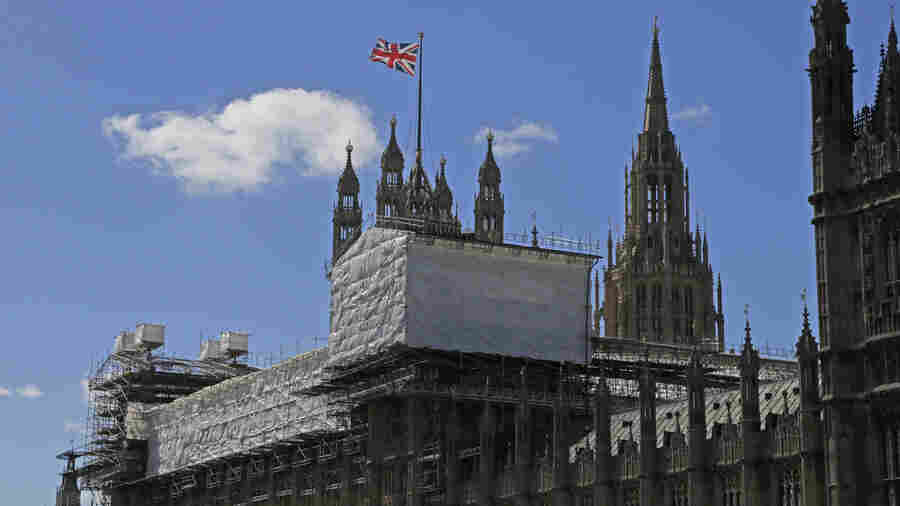 For Britain's Crumbling Parliament, Renovation Will Be Costly And Take Years