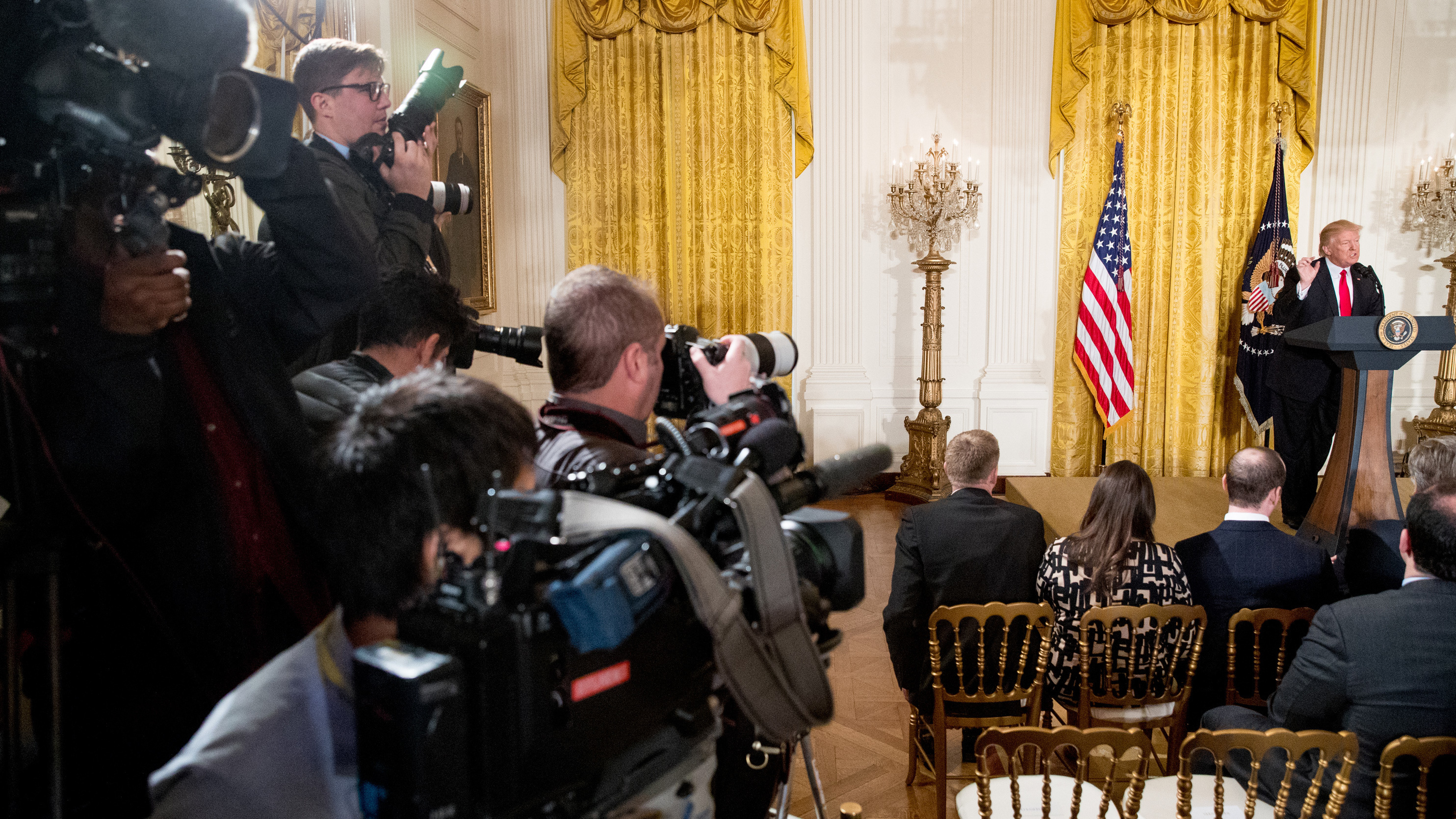 NPR's Full Court Press On Presidential Press Conferences