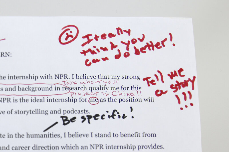 How to get an internship at npr ed npr ed npr fake coverletter photo illustration altavistaventures Gallery