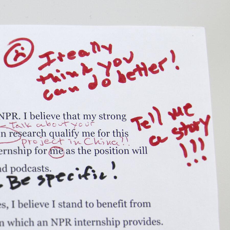 How To Get An Internship At NPR Ed : NPR Ed : NPR