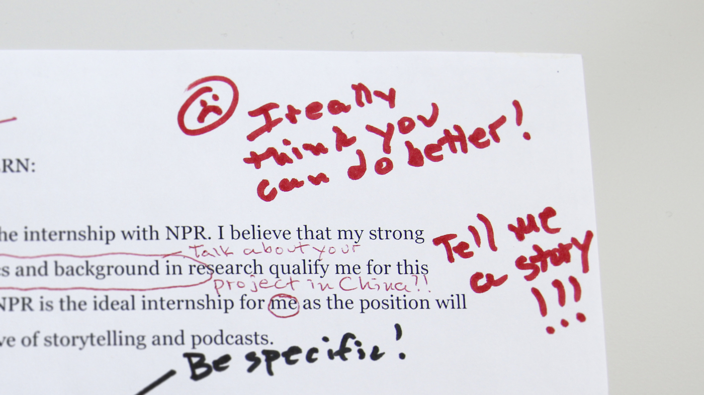 how to get an internship at npr ed npr ed npr - What To Put In A Cover Letter For An Internship