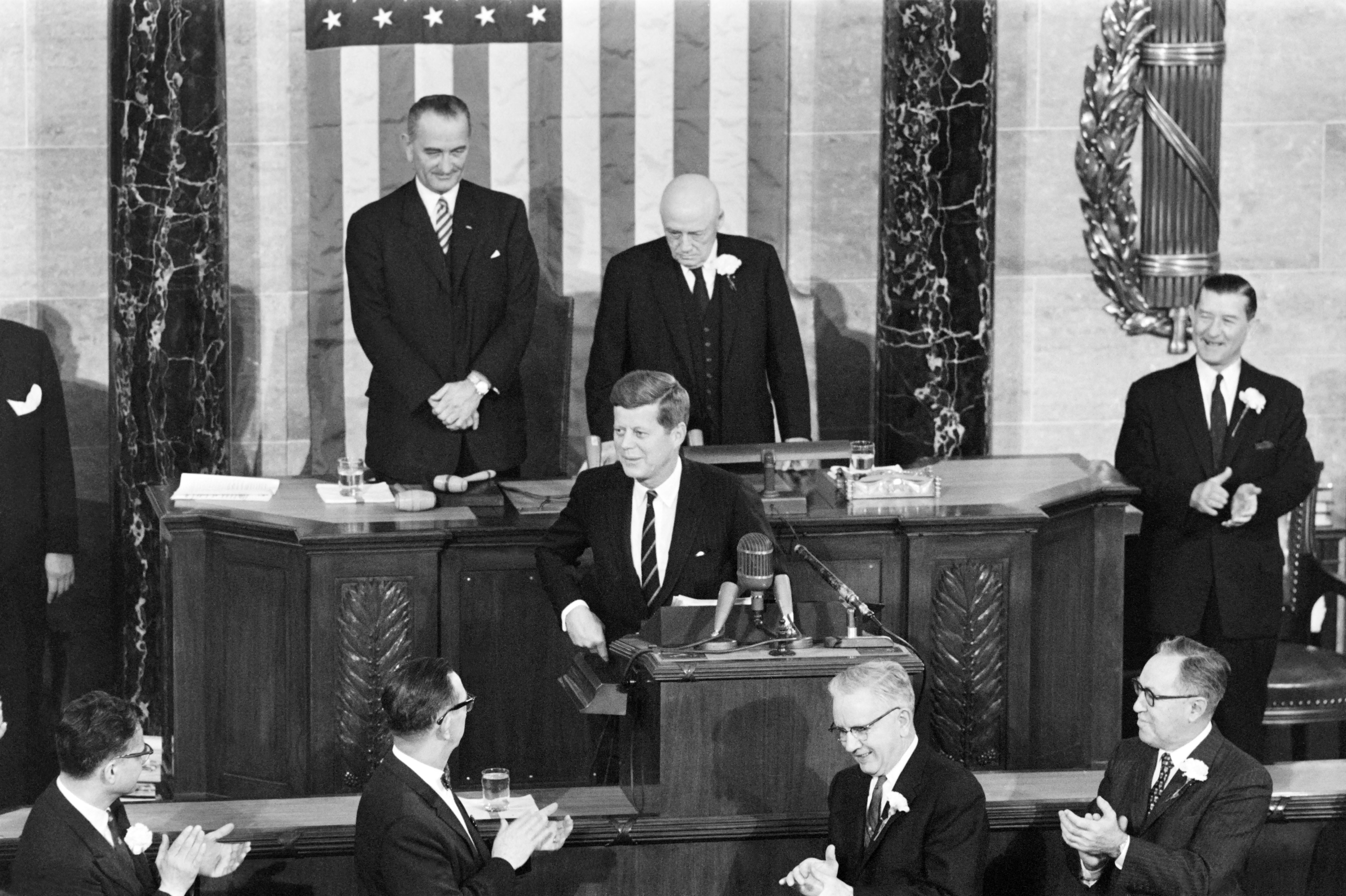 Past Presidents Made History In First Address To Congress