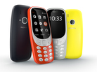 The new 3310s will be available in four colors, and come with a headphone jack. The phones are not yet available for sale.