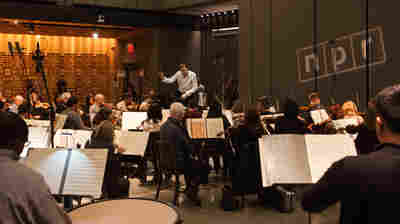 The National Symphony Orchestra: NPR's House Band For A Day