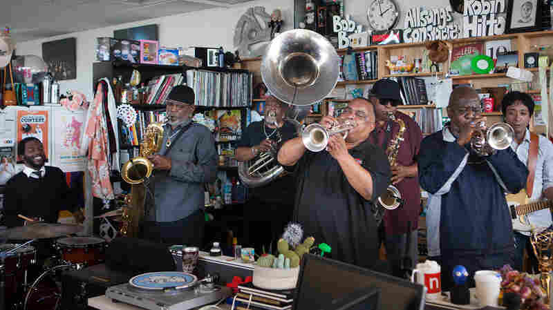 Dirty Dozen Brass Band: Tiny Desk Concert