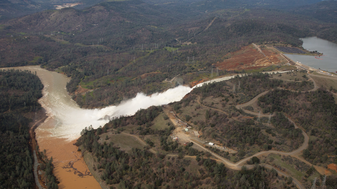 oroville dam : NPR