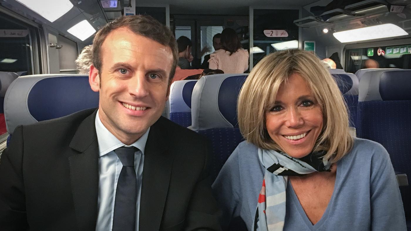 Political Outsider Emmanuel Macron Campaigns To Make France Daring Again Parallels Npr