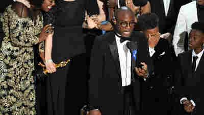 A Shocking Ending Caps A Big Oscar Night For 'Moonlight'