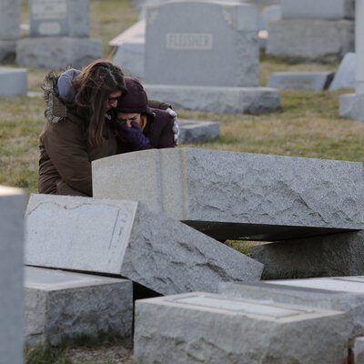 Headstones Vandalized At Jewish Cemetery In Philadelphia