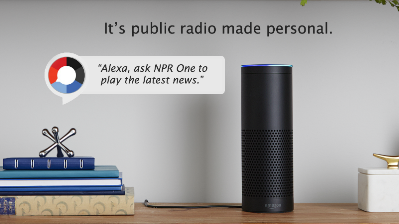"""Alexa, Enable NPR One"""