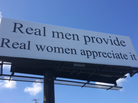 The billboard being debated sits off Business 40 Westbound outside Winston-Salem, N.C.