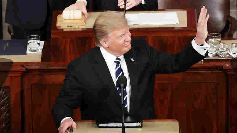 Calling For 'Renewal Of The American Spirit,' Trump Outlines His Vision