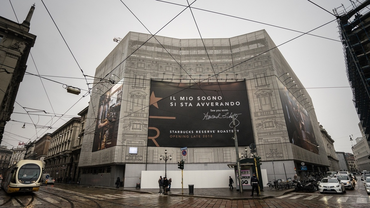 Starbucks to open in italy home of espresso in 2018 for Starbucks italie