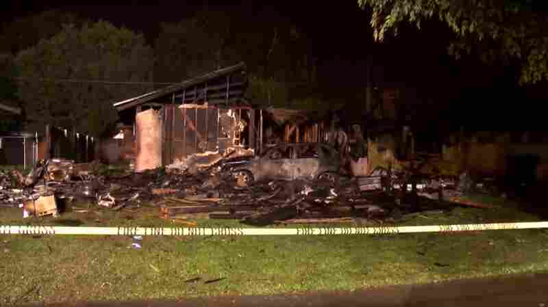3 Die And 2 Survive After Plane Crashes Into Homes East Of LA