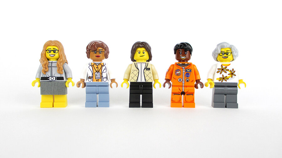 Women Of NASA To Be Immortalized In Lego Form The TwoWay NPR