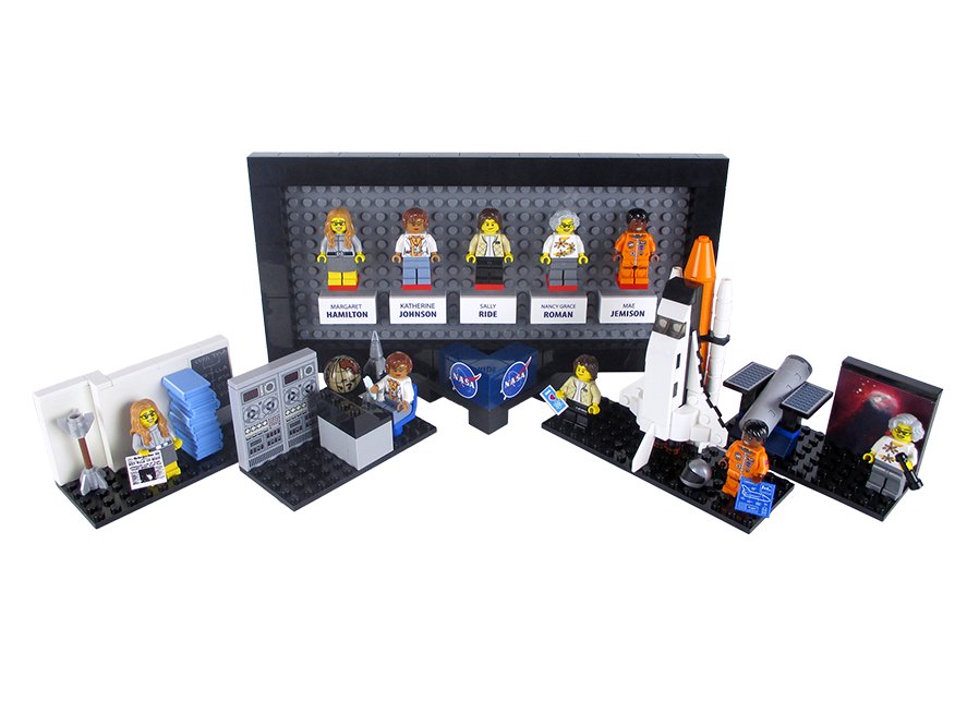 Lego is creating a 'Women of Nasa' set with female astronauts