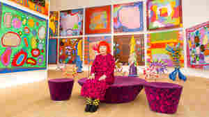 'Priestess Of Polka Dots' Yayoi Kusama Gives Gallerygoers A Taste Of Infinity