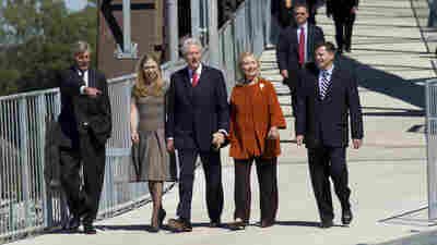 Arkansas Weighs Whether To Remove The Clinton Name From Little Rock's Airport