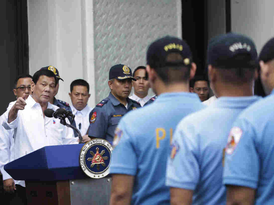 Duterte fires back: Killing criminals not crime vs humanity