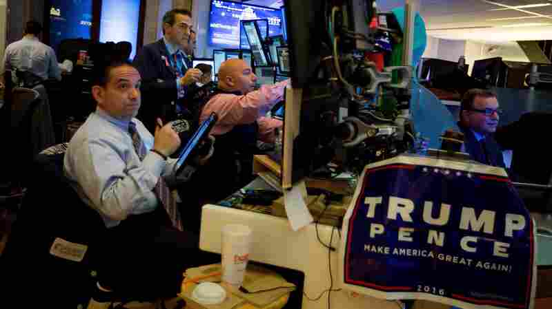 While Trump Touts Stock Market, Many Americans Are Left Out Of The Conversation