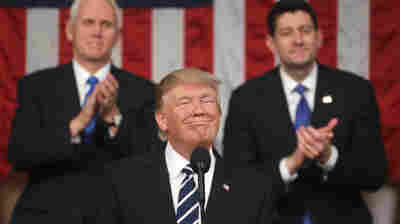 Trump Gets Good Marks From Supporters For Speech, But Can He Move It Forward?