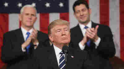 Seeming Presidential At Last, Trump Tries to Balance His Political Elements