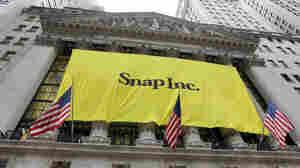 Snapchat Parent's Stock Soars By 50 Percent On First Day Of Trading