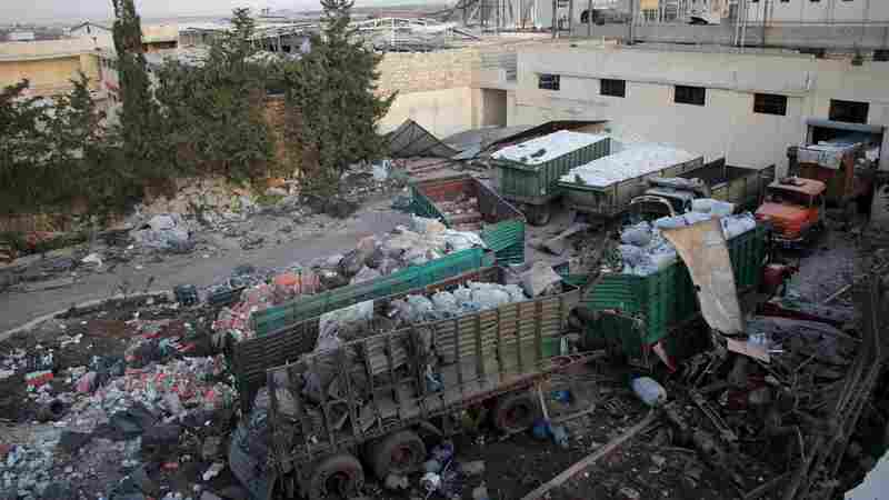 U.N. Report Says Syrian Forces And Rebel Factions Committed Aleppo 'War Crimes'