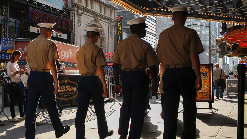 Reports claim that hundreds of Marines are in trouble