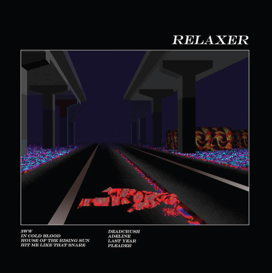 Cover art for Alt-j's third album <em>Relaxer.</em>