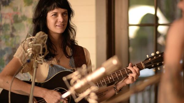 Nikki Lane performs live for Folk Alley.