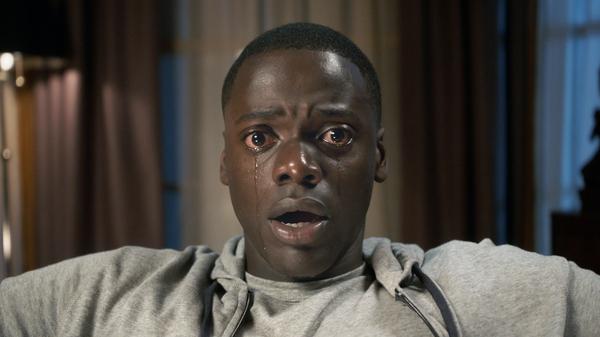 Chris Washington (Daniel Kaluuya) in Get Out.